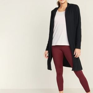 Old Navy Hooded Open Front Cardigan